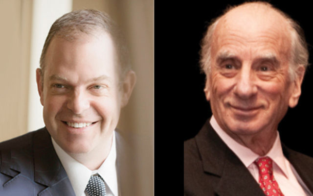 Bill Charlap (© Philippe Levy-Stab), left, and Dick Hyman (Geri Reichart)