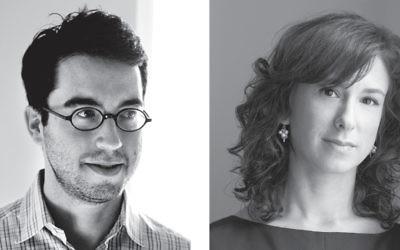 Jonathan Safran Foer, left, and Jodi Kantor