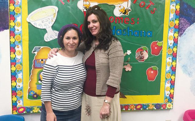 Heather Yedwab Berman, left, and Marilyn Burg  (Courtesy Leah Sokoloff)