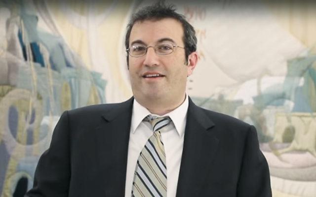 Rabbi Ari Berman (Screenshot from YouTube)
