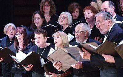 From a recent Shirah chorus concert.