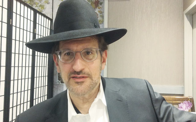 Heshy Friedman, founder of a group called Jewish Democrats for Trump, believes that the vast majority of charedi Orthodox Jews will vote for the Republican candidate. (Ben Sales)
