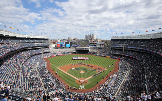 A view of Yankee Stadium on Sept. 11, 2016. (Christopher Pasatieri/Getty Images)