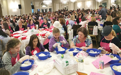 Last year more than 1,300 women participated in the New Jersey Great Big Challah Bake.