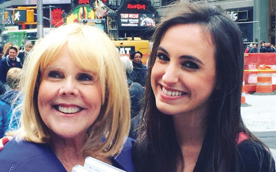 Kim Friedman, left, and Kate Siegel