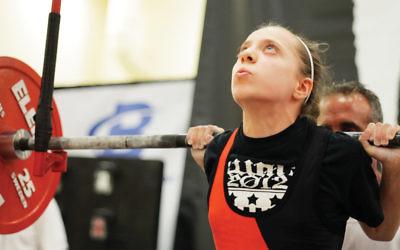 Naomi Kutin carries her weight.