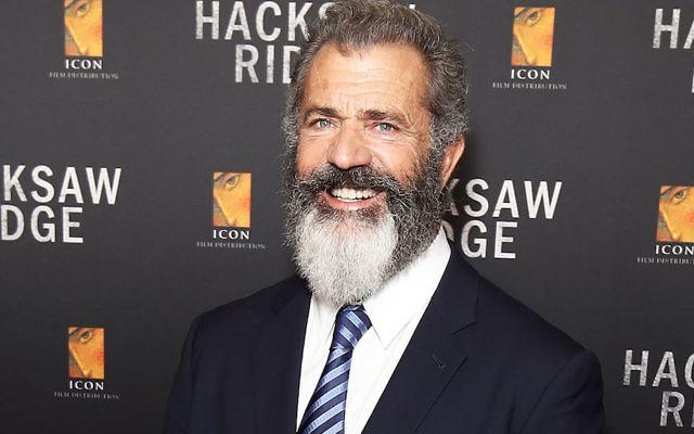 "Mel Gibson arriving ahead of the Australian premiere of ""Hacksaw Ridge"" in Sydney, Australia, Oct. 16, 2016. (Brendon Thorne/Getty Images)"