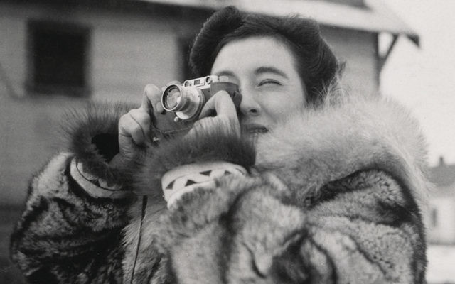 Ruth Gruber was a photographer as well as a reporter.