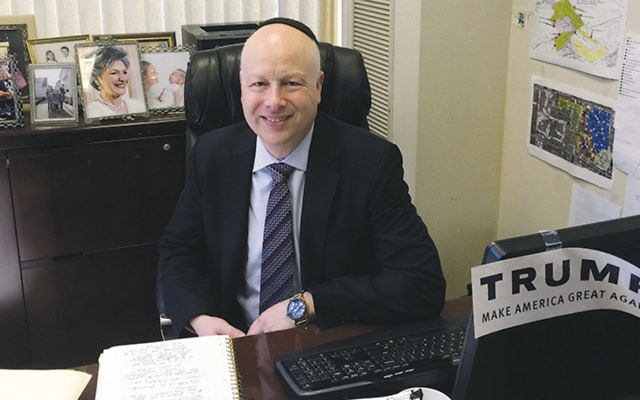 Jason Dov Greenblatt of Teaneck will help negotiate U.S. policy with Israel for the Trump administration.