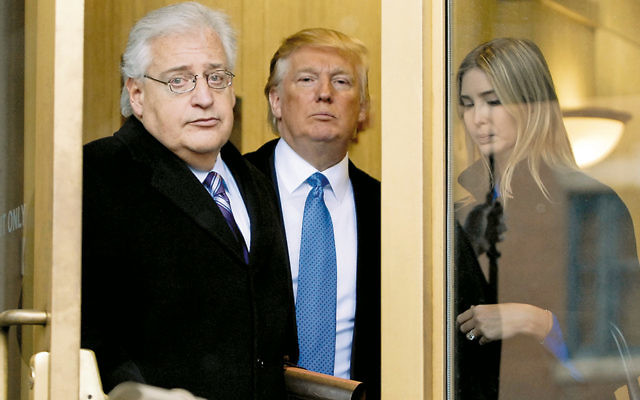 In February 2010, David Friedman, Donald Trump, and Ivanka Trump walked out of the Federal Building after they appeared in U.S. Bankruptcy Court in Camden. (Bradley C Bower/Bloomberg News via Getty Images)