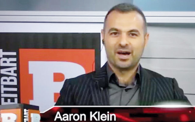 Aaron Klein plans to expand Breitbart Jerusalem. (Screenshot from YouTube)