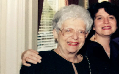 Nancy Gerber embraces her mother, Trudy Frankel.