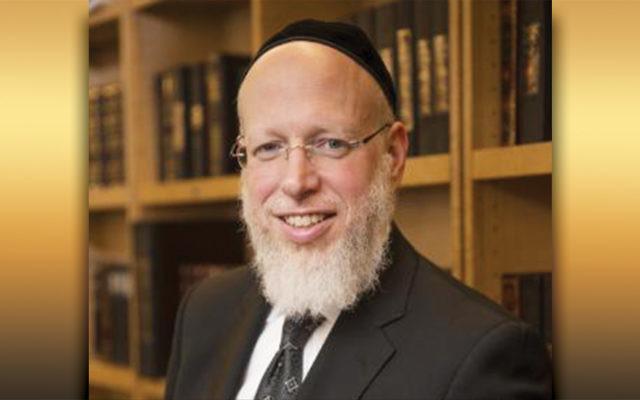 Rabbi Yonason Sacks (Courtesy OU)