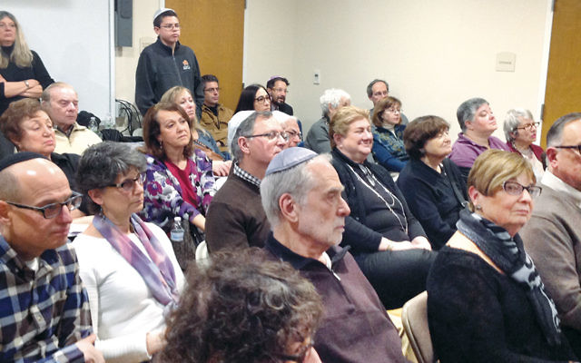 A packed classroom at last year's Sweet Taste of Torah