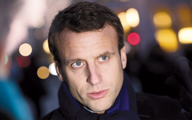 French independent presidential candidate Emmanuel Macron. (Sean Gallup/Getty Images)