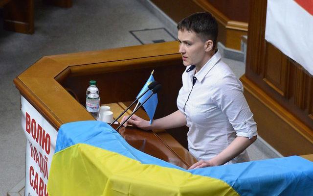 Nadiya Savchenko, shown in May 2016. (Wikimedia Commons)