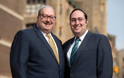 Rabbi Kenneth, left, and Rabbi Tuvia Brander. (Yeshiva University)