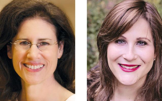 Carol Fishman Cohen, left, and Rachel Book