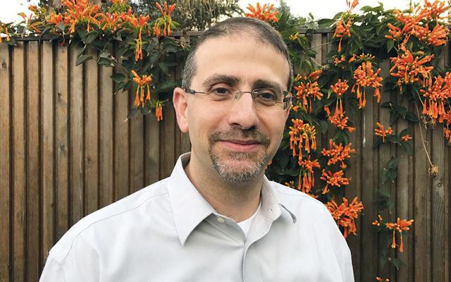 Dan Shapiro, former U.S. ambassador to Israel, stands in his backyard in Raanana, Israel, on  March 2. (Andrew Tobin)