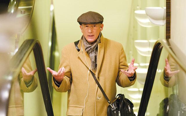 "Richard Gere stars as Norman Oppenheimer in director Joseph Cedar's ""Norman."" (Niko Tavernise/Sony Pictures Classics)"