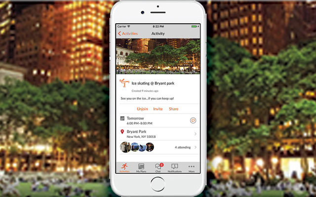 The new app Sponté puts users in contact with events as they unfold.