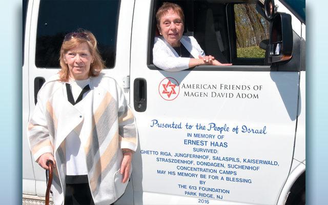 Donna Calcaterra, left, and Myrna Haas. (Howard Wechsler)