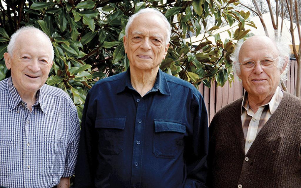 Jeffrey Levene, Jeffrey Kane, and Malcolm Galatin. (ROCHELLE LAZARUS)