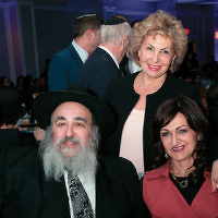 The eighth National Russian Shabbaton was held at the Crown Plaza Hotel in Stamford, Conn. Participants included Rabbi Mordechai and Shterney Kanelsky, executive and associate director of Bris Avrohom in Fair Lawn. Sofa Landver, Israel's Minister of Aliyah and Immigrant Absorption, pictured center, was a guest speaker. Participants came from seven countries and 16 states; approximately 100 guests were from Bris Avrohom.  (Courtesy BA)