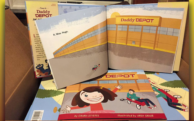 """Copies of """"Daddy Depot"""" by Chana Stiefel."""