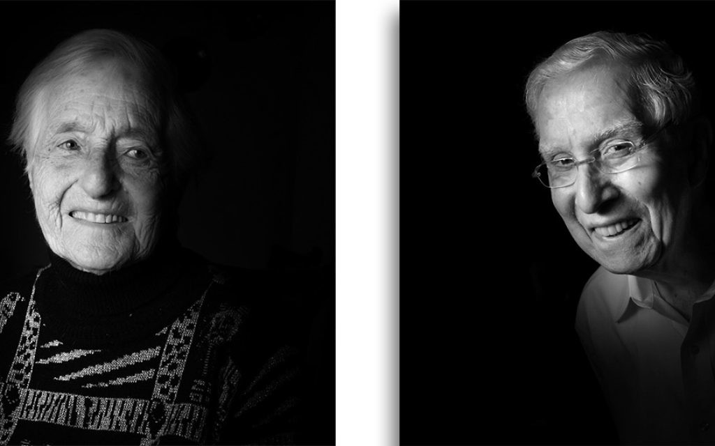 Holocaust survivors Ruth Scholss and Harvey Moser as photographed by B.A. Van Sise. (Courtesy Museum of Jewish Heritage)
