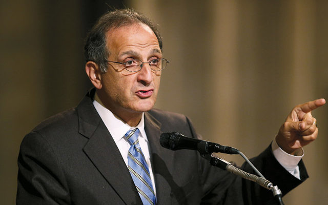 James Zogby speaks at the National Cathedral in Washington, D.C., in October 2012. (Chip Somodevilla/Getty Images)
