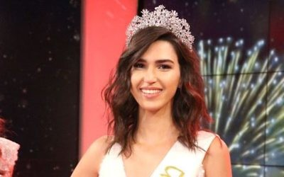 Rotem Rabi brought in a bevy of online backers on her way to the Miss Israel crown. (Moshe Sasson/Courtesy of La'isha)