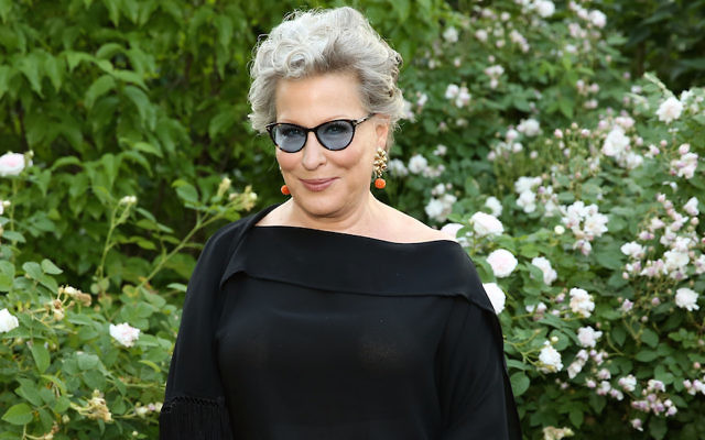 Bette Midler at the New York Restoration Project's spring picnic at Morris-Jumel Mansion in New York, June 1, 2016. (Monica Schipper/WireImage)