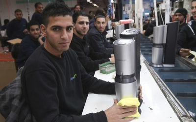 SodaStream's West Bank factory was relocated to the Negev following international criticism. (Nati Shohat/Flash90)