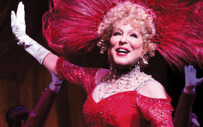 """Bette Midler in """"Hello Dolly."""""""