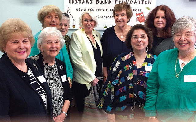 NCJW volunteers at the dedication of the new National Council of Jewish Women Bergen County Section/Renee Guller Infant/Toddler Center at the Bergen Family Center in Englewood.