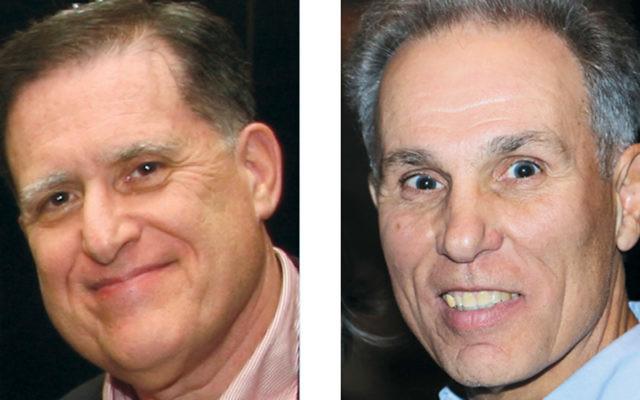 Ira Kastrinsky, left, and Barry Cohen
