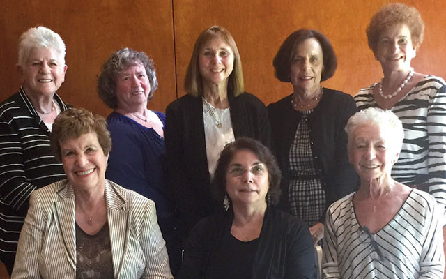 Newly elected officers of the National Council of Jewish Women Bergen County Section.
