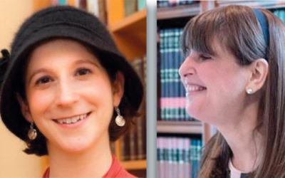 Sara Wolkenfeld, left, and Rachel Friedman (Photos courtesy Lamdeinu)
