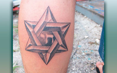 Tattoos like this one evoke emotional reactions in the Jewish community.