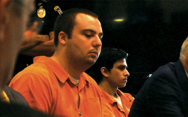 Anthony Graziano, left, and Aakash Dalal at their sentencing.