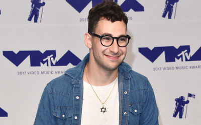 Jack Antonoff at the 2017 MTV Video Music Awards in Inglewood, Calif., Aug. 27, 2017. (Alberto E. Rodriguez/Getty Images)