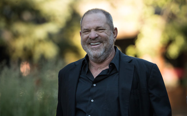 Harvey Weinstein in Sun Valley, Idaho, July 12, 2017. (Drew Angerer/Getty Images)