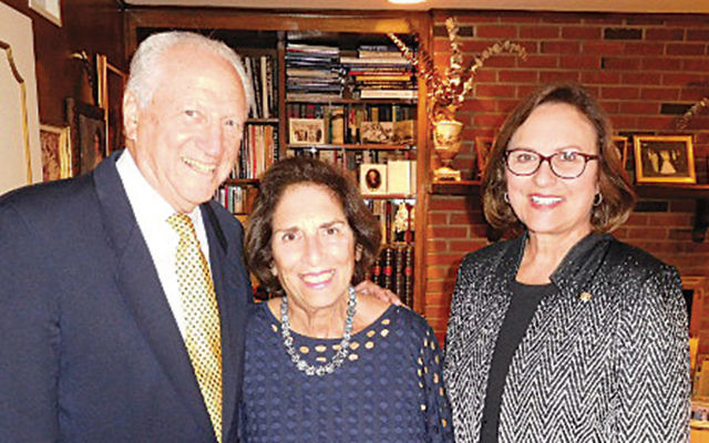 Billy and Marion Weiss, left, with Senator Deb Fischer. (Courtesy Norpac)
