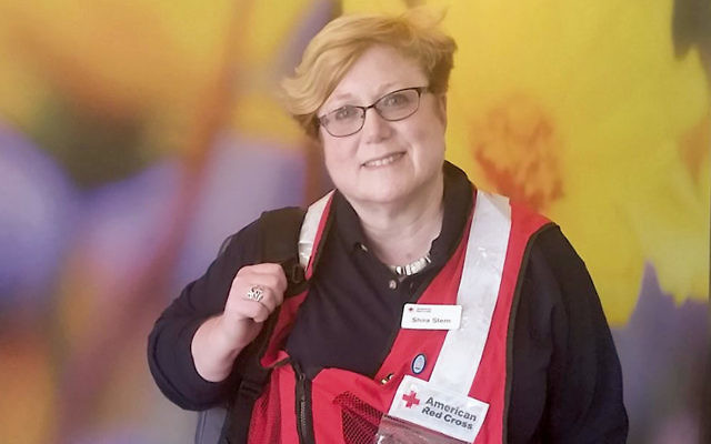 Rabbi Shira Stern of Marlboro is a disaster spiritual care provider for the American Red Cross. (Courtesy Shira Stern)