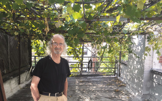 Latif Jiji stands in his Upper East Side winery, which he created 40 years ago.