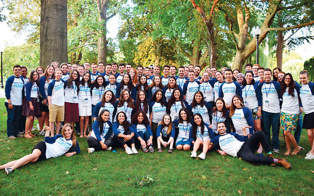 This year's Student Leadership Training Conference attendees gather in Boston for a six-day conference.