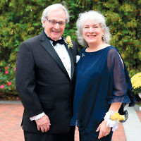 Honoree Dr. Harvey Gross and his wife, Beth.