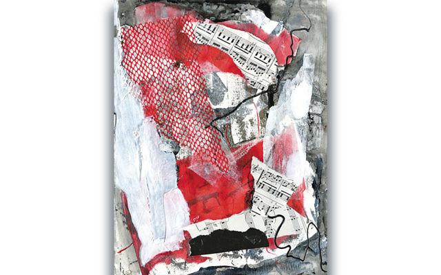 Mixed media by Barbara Landberg. (Courtesy JCCOTP)