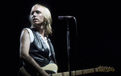 Tom Petty performing in Los Angeles circa 1985. (Michael Montfort/Michael Ochs Archives/Getty Images)
